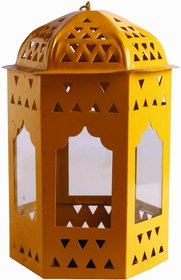 Anasa Decorative Metal Cage Lantern Hanging Tealight Ca
