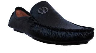Brawo Black Driving Loafer