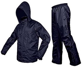 Unique Blue Raincoat With Lower And Cap (3 In 1)