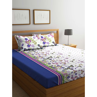 100% Cotton Double Bed Sheet Breeze