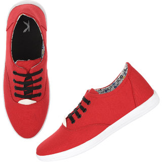 Street London Elegant Sneakers For men (Red) 558