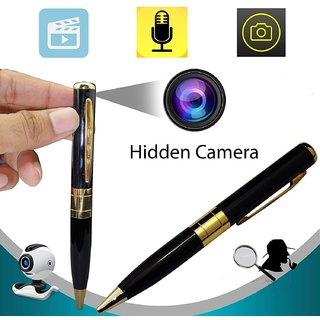 HD GOLDEN  BLACK Spy Pen Camera Pen Spy Product