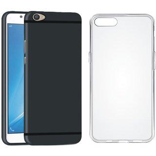Vivo V5 Plus Ultra Slim Back Cover with Silicon Back Cover, Free Silicon Back Cover