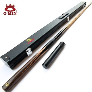 LGB COMBO OF SNOOKER OMIN CUE,EXTENSION WITH CUE CASE BY OMIN (ORIGINAL)
