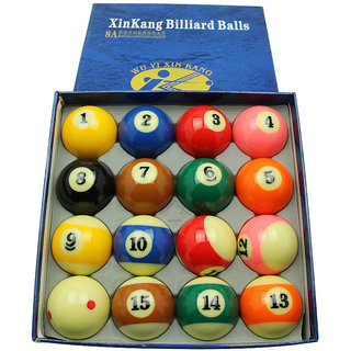 LGB AMERICAN POOL BALL SET (8A)