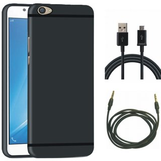 Motorola Moto C Cover with USB Cable and AUX Cable