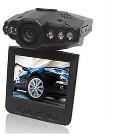 Hd Portable Car Dvr Dash Cam 6 Led Ir Night Vision Dvr Camera Cctv Recorder 32Gb