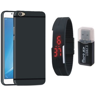 Redmi Y1 Lite Cover with Memory Card Reader, Digital Watch