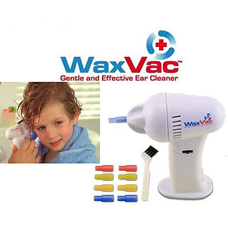 Waxvac Ear Cleaner Safe Ear Wax Remover