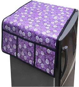 The Intellect Bazaar Single PVC Fridge Top Cover,Purple