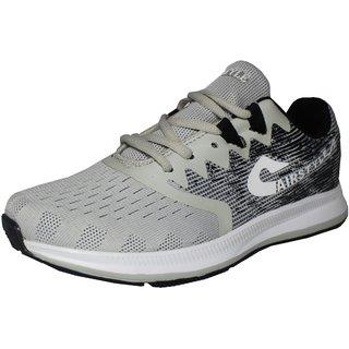 cheaper c99a0 5fb53 Buy Max Air Sports Shoes 8883 Light Grey Black Online - Get 48% Off