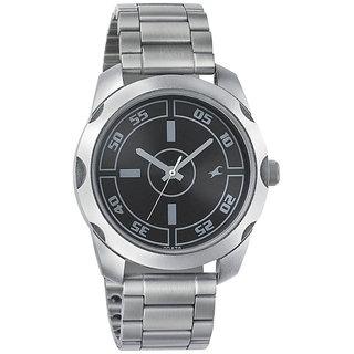 e1757c2c5 Buy Fastrack Quartz Black Round Men Watch 3123SM01 Online - Get 6% Off