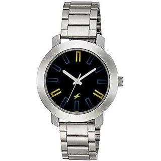Fastrack Analog Blue Round Watch -3120SM02