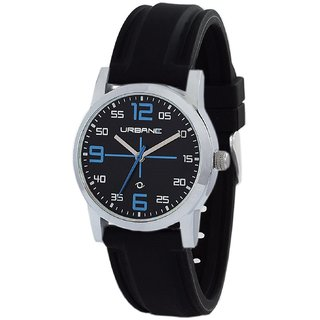 Urbane by Maxima Analog Black Dial Womens Watch - U-01460PALC
