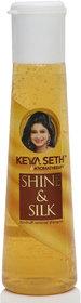 Shine  Silk Dandruff Removal Shampoo by Keya Seth Aromatherapy, 100ml