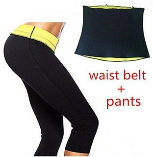 Dealsnbuy Hot Shaper Combo (Pant and Belt)