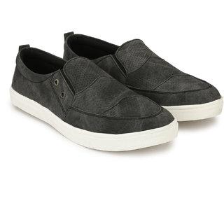 Evolite Grey Slip on Sneakers, Stylish Loafer, Smart Casuals for Men  Boys