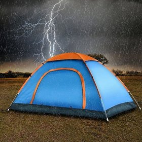 8 Person All Season Waterproof Camping Tent Great for Picnic/ Camping /Hiking (Color May Vary)