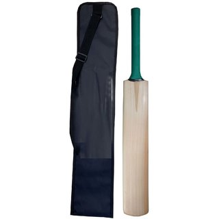Premium Quality Popular Willow Cricket Bat With Free Full Cover (For Tennis Ball Matches)
