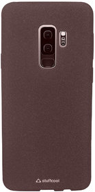 Stuffcool Sable Sandy Finish Textured TPU Soft Back Case Cover for Samsung Galaxy S9+ / S9 Plus - Maroon