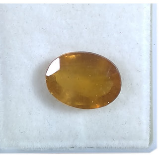 Natural Yellow Sapphire 5.45 Cts Good Quality Ovel Cut Pukhraj Astro Gems