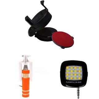 MINIFOX MOBILE STAND SELFIE SELFIE FLASH LIGHT