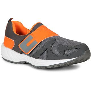 Smartwood slipon Orange running sport shoes for men