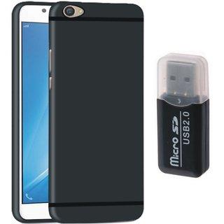 Motorola Moto E4 Plus Plus Stylish Back Cover with Memory Card Reader