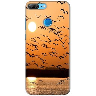 PREMIUM STUFF PRINTED BACK CASE COVER FOR HUAWEI HONOR 9 LITE DESIGN 5013