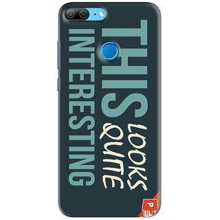 PREMIUM STUFF PRINTED BACK CASE COVER FOR HUAWEI HONOR 9 LITE DESIGN 5783