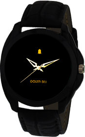 KDS Analogue Black Dial Men's Watch-GB-201Blk