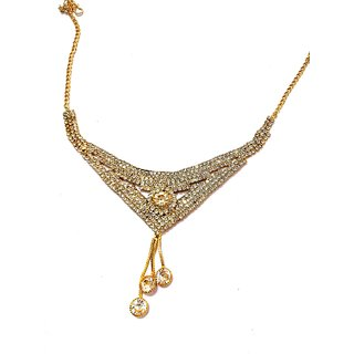 necklace set for women Necklace for girls fashion party wear Arafa Jewellery Gold Plated Traditional/Ethnic