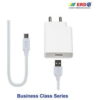 ERD 5V 3Amp Super Fast Charger All Smart Phones With Micro USB Cable .