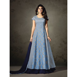 Buy Salwar Suit Women S Jennifer Winget Indian Designer Floor Length