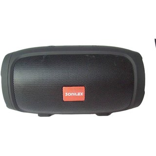 SONILEX ROCKET SERIES BLUETOOTH SPEAKER SUPPORT TF CARD USB BLUETOOTH AUX CABLE CALLING