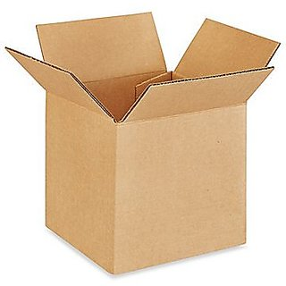 Brown / Packaging 5x5x5 Inch Pack of 50 Boxes By Ezellohub