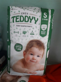 EASY TEDDY BABY DIAPER SIZE SMALL PACK OF 46