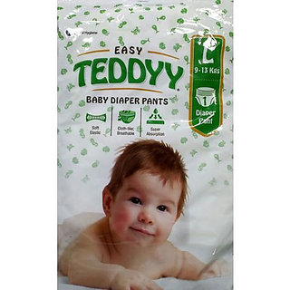 EASY TEDDY BABY DIAPER SIZE LARGE PACK OF 20