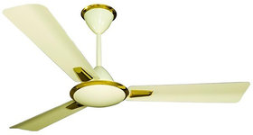 HomeKrafts Solaris 48 (1200mm) 3 Aluminium Blades, Aluminium Body, Copper Winded Motor, Energy Saving Premium Ceiling Fan - Broken Golden