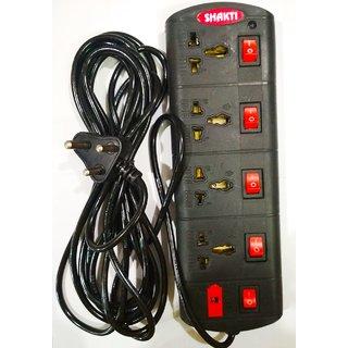 Shakti Heavy Duty 4x4 Power Strip with 5m Wire