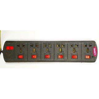 Shakti Heavy Duty 6x6 Power Strip with 5m Wire