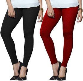 Ajami Black  Red Leggings