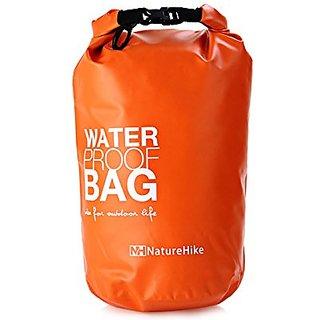 NatureHike 5L Camping Bags High Strength Waterproof Ultralight Bag Orange