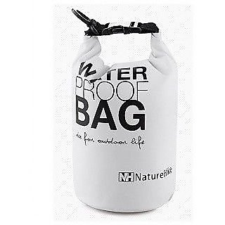 NatureHike 5L Camping Bags High Strength Waterproof Ultralight Bag White