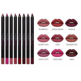Huda Beauty Lip Contour Matte Pencil - Set of 12