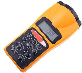 Digital LCD 18M Ultrasonic Laser Distance Meter Rangefinder Hunting Measuring