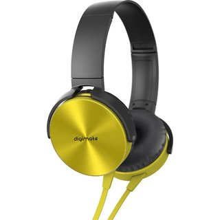 Digimate Golden MDR-XB450 Over The Head On-Ear EXTRA BASS Headphone