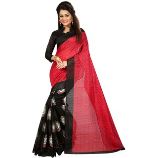 FIGURE BLACK (BHAGALPURI SAREES) NEW BOLLYWOOD-INDIAN-DESIGNER-PARTY-WEAR-ETHNIC Peria-Apparel