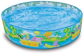 4 Feet Broad Open  Use Indoor Outdoor Swimming Pool Gift for Kids by eRunners