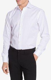 Royal Fashion Formal White Cotton Shirt For Men